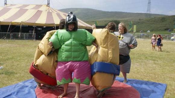 A wee bit of Sumo Wrestling?